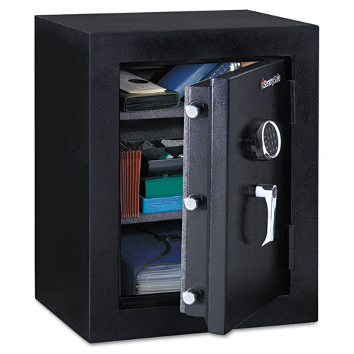 Executive Fire-safe, 3.4 Cu Ft, 21.75w X 19d X 27.75h, Black