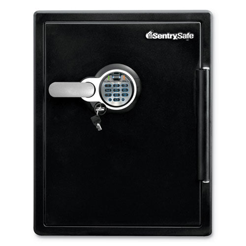 Fire-safe With Biometric & Keypad Access, 2 Cu Ft, 18.6w X 19.3d X 23.8h, Black