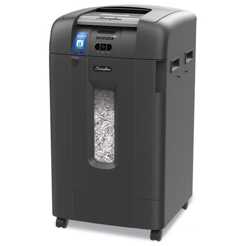 Stack-and-shred 750xl Smartech Enabled Hands Free Super Cross-cut Shredder Value Pack, 750 Auto-12 Manual Sheet Capacity