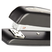 747 Business Full Strip Desk Stapler, 25-sheet Capacity, Black