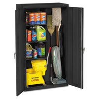 Janitorial Cabinet, 36w X 18d X 64h, Putty