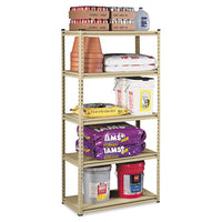 Stur-d-stor Shelving, Five-shelf, 36w X 18d X 72h, Sand