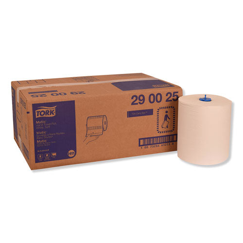 "Advanced Matic Hand Towel Rolll, 8.27"" X 900 Ft, White, 6 Rolls-carton"