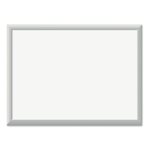 Magnetic Dry Erase Board With Aluminum Frame, 24 X 18, White Surface, Silver Frame