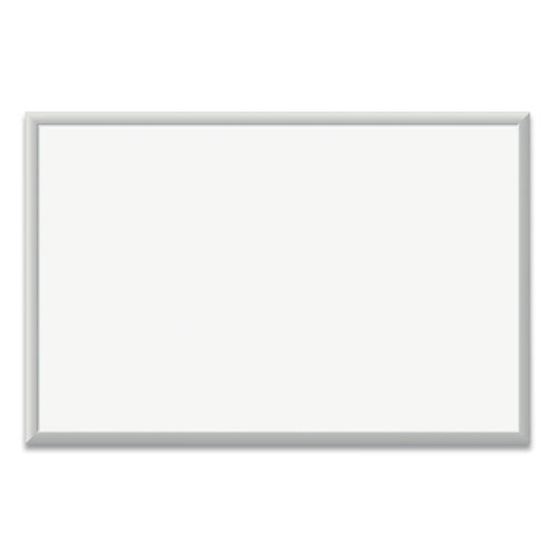 Magnetic Dry Erase Board With Aluminum Frame, 36 X 24, White Surface, Silver Frame