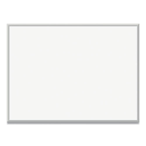 Magnetic Dry Erase Board With Aluminum Frame, 48 X 36, White Surface, Silver Frame