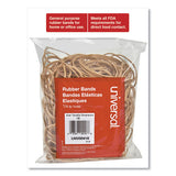"Rubber Bands, Size 16, 0.04"" Gauge, Beige, 4 Oz Box, 475-pack"