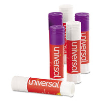 Glue Stick Value Pack, 0.28 Oz, Applies Purple, Dries Clear, 30-pack