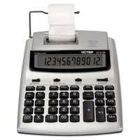 1212-3a Antimicrobial Printing Calculator, Blue-red Print, 2.7 Lines-sec