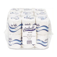 Bath Tissue, Septic Safe, 2-ply, White, 4 X 3.75, 500 Sheets-roll, 96 Rolls-carton