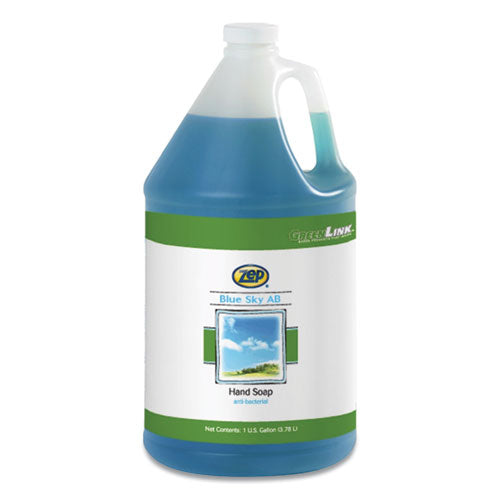Blue Sky Ab Antibacterial Hand Soap, Clean Open Air, 1 Gal Bottle, 4-carton