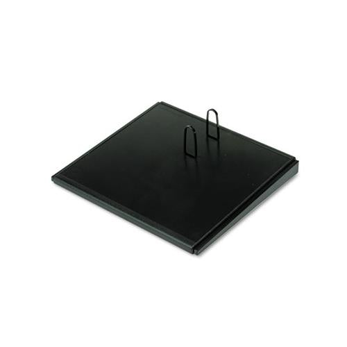 "Desk Calendar Base, Black, 4 1-2"" X 8"""
