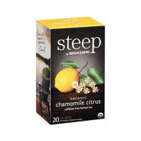 Steep Tea, Chamomile Citrus Herbal, 1 Oz Tea Bag, 20-box