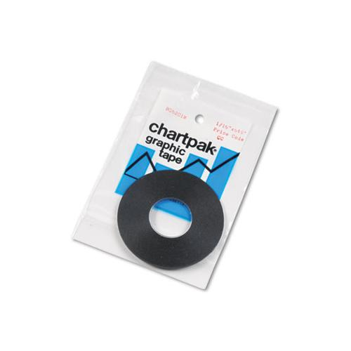 "Graphic Chart Tapes, 0.06"" X 54 Ft, Matte Black"