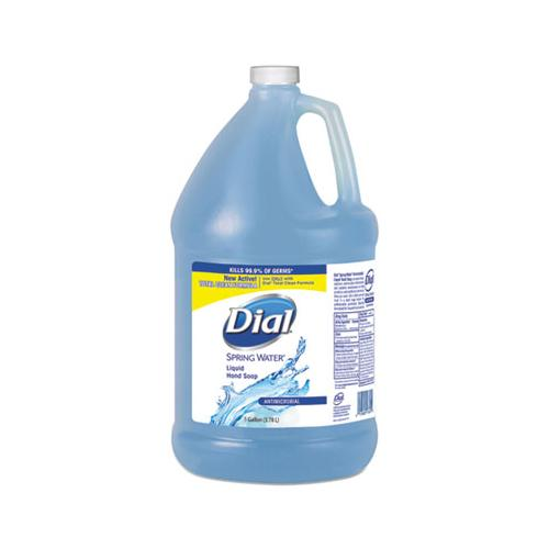 Antimicrobial Liquid Hand Soap, Spring Water Scent, 1 Gal Bottle