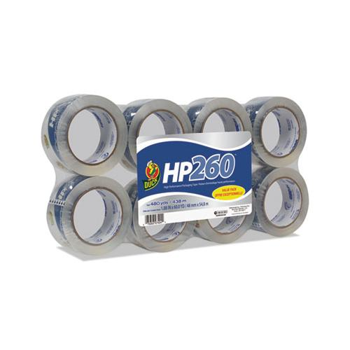 "Hp260 Packaging Tape, 3"" Core, 1.88"" X 60 Yds, Clear, 8-pack"
