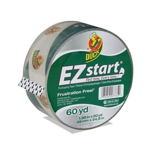 "Ez Start Premium Packaging Tape, 3"" Core, 1.88"" X 60 Yds, Clear"