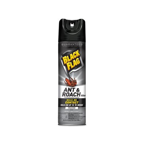 Black Flag Ant & Roach Killer Spray, 17.5 Oz Aerosol, 12-ct