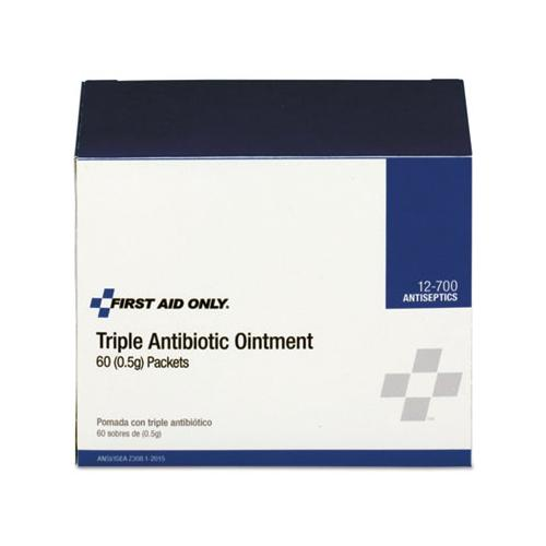 Triple Antibiotic Ointment, 0.5 G Packet, 60-box