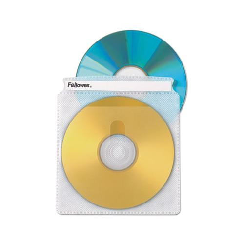 Two-sided Cd-dvd Sleeve Refills For Softworks File, 25-pack