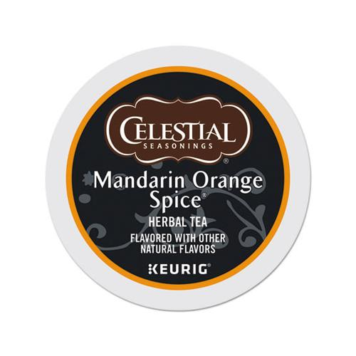 Mandarin Orange Spice Herb Tea K-cups 24-box