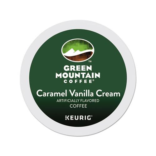 Caramel Vanilla Cream Coffee K-cups, 24-box