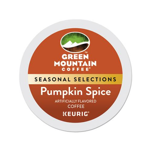 Fair Trade Certified Pumpkin Spice Flavored Coffee K-cups, 24-box