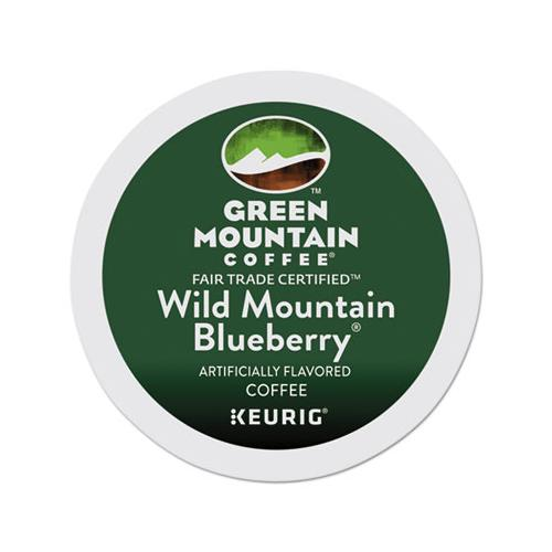 Fair Trade Wild Mountain Blueberry Coffee K-cups, 24-box