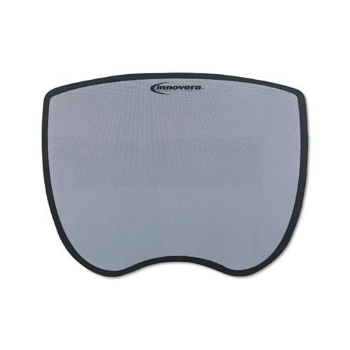 Ultra Slim Mouse Pad, Nonskid Rubber Base, 8-3-4 X 7, Gray