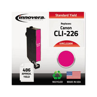 Remanufactured Magenta Ink, Replacement For Canon Cli-226 (4548b001), 486 Page-yield