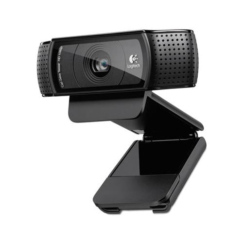 C920 Hd Pro Webcam, 1920 Pixels X 1080 Pixels, 2 Mpixels, Black