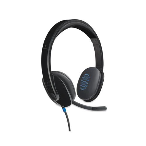 H540 Corded Headset, Usb, Black