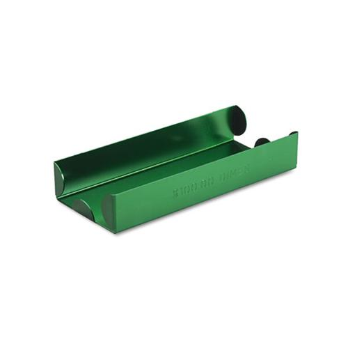 Rolled Coin Aluminum Tray W-denomination & Quantity Etched On Side, Green