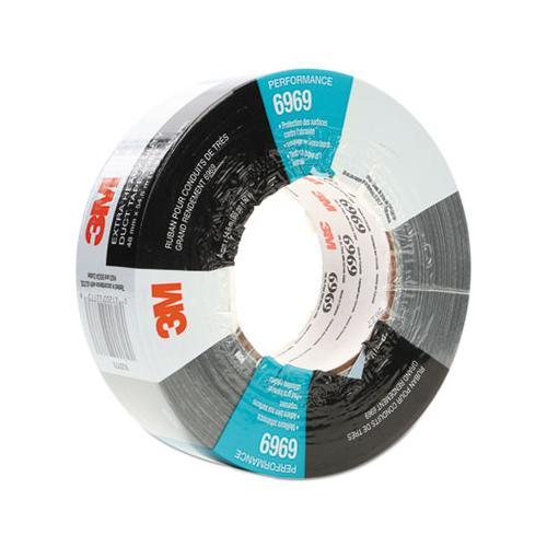 "6969 Extra-heavy-duty Duct Tape, 3"" Core, 48 Mm X 54.8 M, Silver"