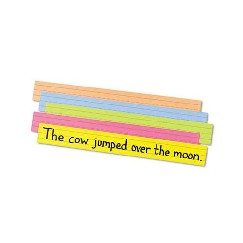Sentence Strips, 24 X 3, Assorted Bright Colors, 100-pack