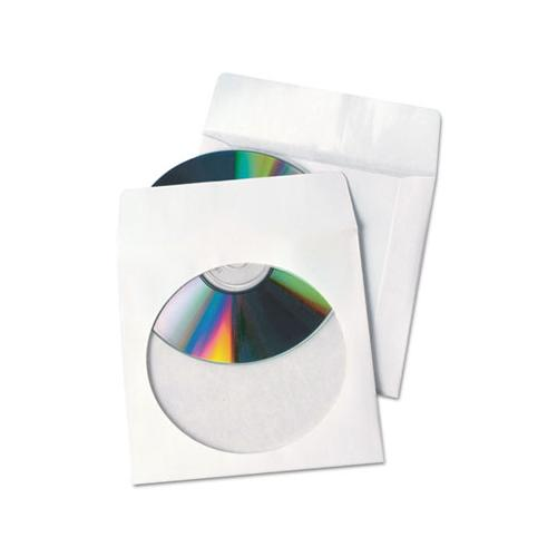 Tech-no-tear Poly-paper Cd-dvd Sleeves, 100-box
