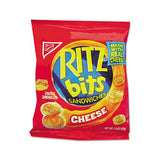 Ritz Bits, Cheese, 1.5 Oz Packs, 60-carton
