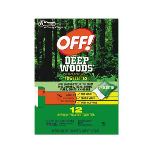 Deep Woods Towelettes, 12-box, 12 Boxes Per Carton