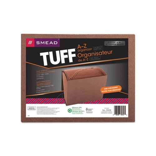 Tuff Expanding Files, 21 Sections, 1-21-cut Tab, Letter Size, Redrope