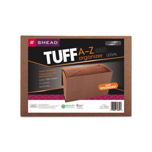 Tuff Expanding Files, 21 Sections, 1-21-cut Tab, Legal Size, Redrope