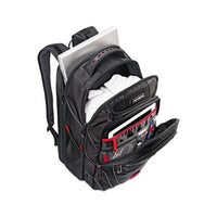 Tectonic Pft Backpack, 13 X 9 X 19, Black-red