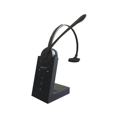 Zum Maestro Dect Headset, Monaural, Over-the-head, Black