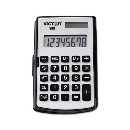 908 Portable Pocket-handheld Calculator, 8-digit Lcd