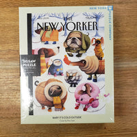 New Yorker Baby It's Cold Outside Puzzle