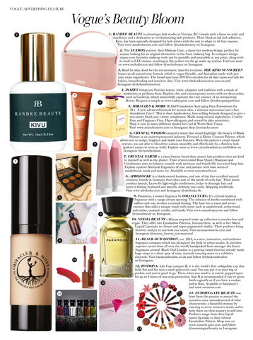 Miracles & More Hi-def Foundation in British Vogue
