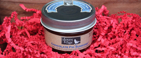 Doves and Figs Chocolate Fig Sunshine Jam