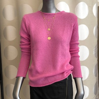 Cashmere Pullover Pink | BLOVED