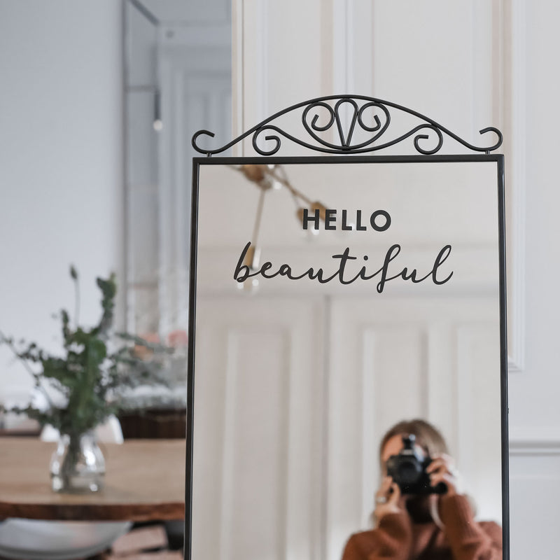 "Wandsticker ""Hello Beautiful"" 