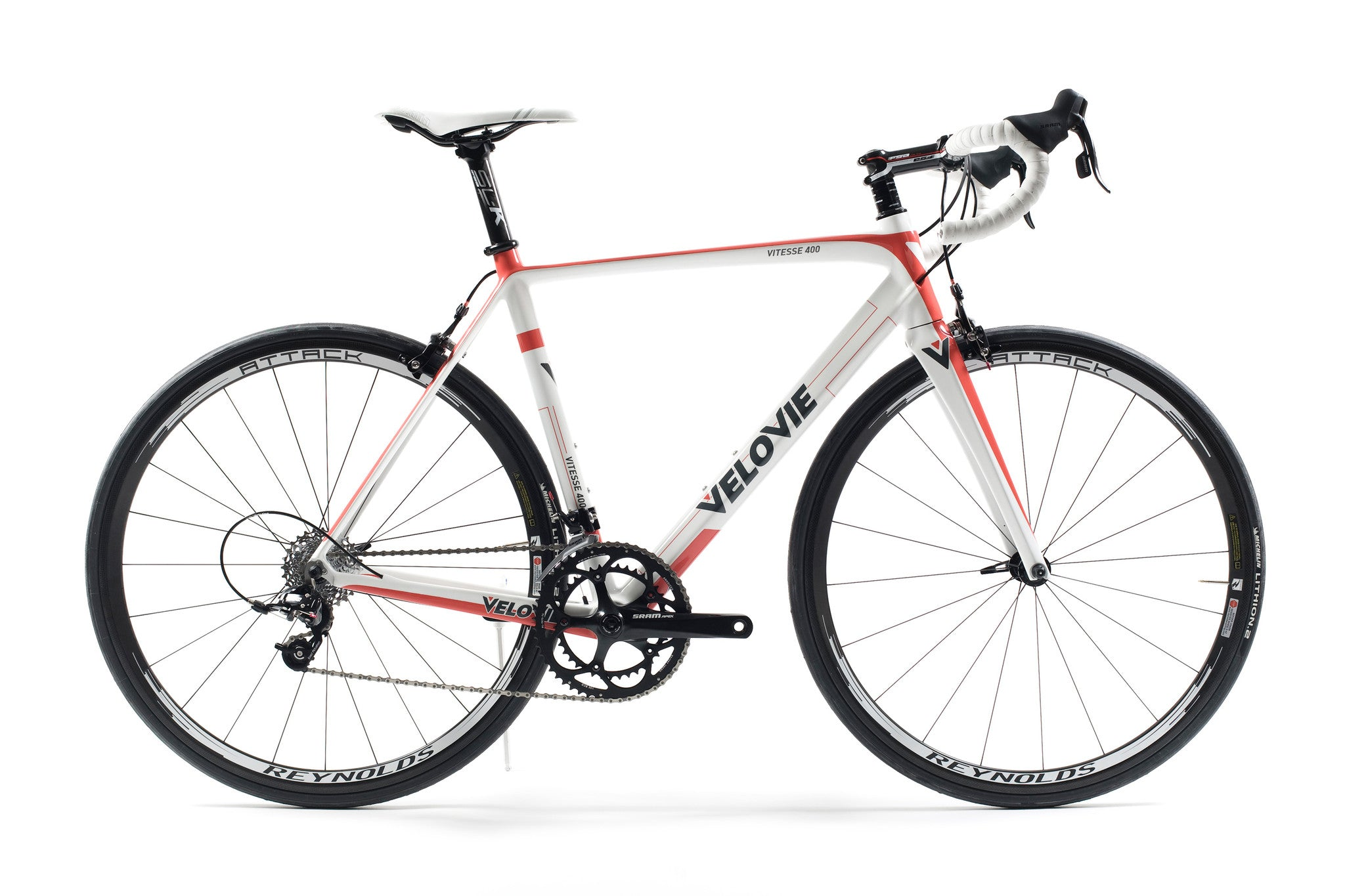 Vitesse 400 + SRAM APEX (Red/White)