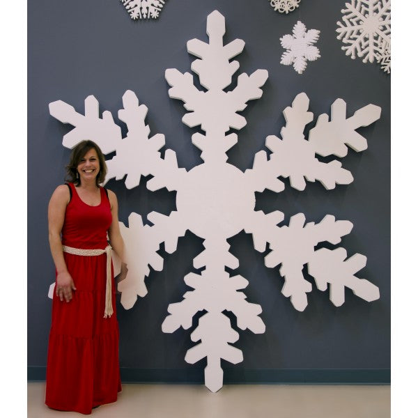 StyroShapes.com Styrofoam Snowflake Kit. Perfect for Christmas & Holidays